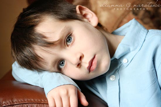 child portrait - little boy