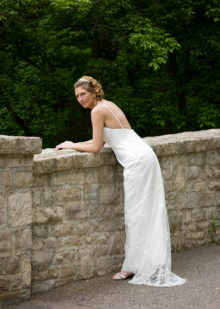 bridal portraits in Westerville Ohio