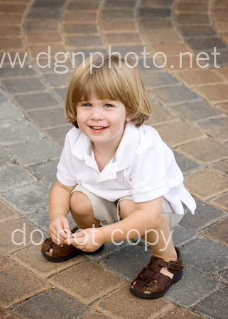 happy child's portrait in Columbus Ohio