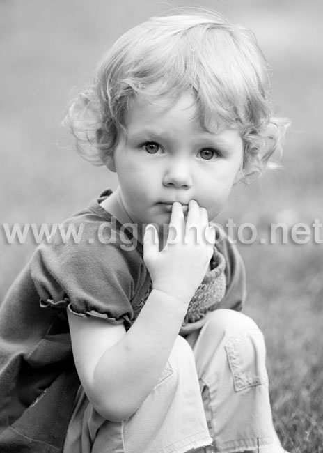 I thought this one would look precious in black & white